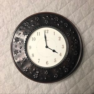 Other - Metal Frame Wall Clock